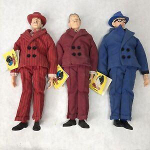 "Dick Tracy Plush Doll Vinyl Head Lot 9"" by Applouse Vintage"