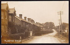 RPPC Real Photo Plumpton Green Lewes District BN7 East Sussex Postcard 1915 GB