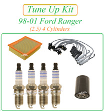 Tune Up for 98-01 Ford Ranger 2.5 L4 (SOHC): Spark Plugs Wire Set Air Oil Filter