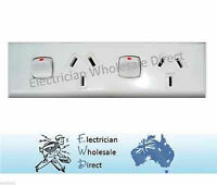 Skirting Double GPO Power Point For Generators Electrical Switch 10 amp