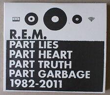 2 CD  ***  R.E.M. PART LIES PART HEART PART TRUTH PART GARBAGE 1982-2011  ***