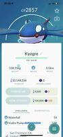 Pokemon Go Legendary Kyogre Same Day Trade Or 30 Day
