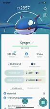 Pokemon Go Legendary Kyogre Same Day Trade Or 30 Day
