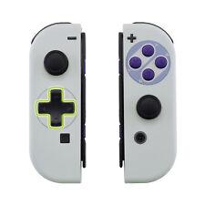 Custom Classics SNES Dpad Version Shell Full Buttons for Nintendo Switch Joy-Con