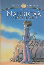 DVD - Nausicaa Guerreros Del Viento NEW The Valley Of The Wind Hayao Miyazaki