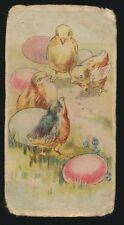 1910 E45 American Caramel EASTER SERIES -Chicks w/ eggs