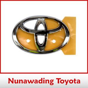 Genuine Toyota Radiator Grille Emblem for Celica & Land Cruiser 120 Prado