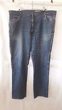 Wrangler Jeans Texas Stretch Blau W42 L32 Bootcut-Jeans Herren
