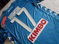 Maglia SSc NAPOLI Kappa 2019 Kombat Extra Pantera Stilizzata Hamsik 17 maillot