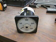Crompton Ac Kilowattmeter 12959 077 219A Qqyl C6 120V 5.78A Range:0-2000kw Used
