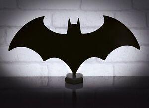 BATMAN ECLIPSE LIGHT USB POWERED DESK LAMP DC COMICS OFFICIAL LICENSED NEON LOGO
