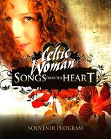 CELTIC WOMAN 2010 SONGS FROM THE HEART TOUR CONCERT PROGRAM BOOK / NMT 2 MINT