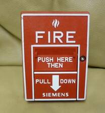 Siemens HMS-D Addressable Red Manual Pull Station Fire Alarm 500-033400