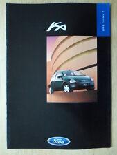FORD KA 1998 UK Mkt sales brochure - Ka2 Ka3 Edition 2