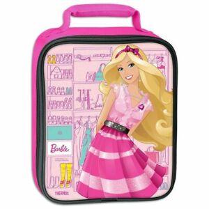 Barbie Insulated Lunch Box - Girls School Lunchbox