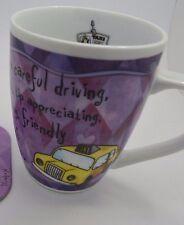 """H & H Inspirational Tip Taxi Driver Coffee Tea Mug 4""""H #42"""