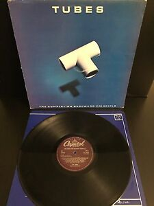 Tubes – The Completion Backward Principle (Vinyl, LP, E-ST 26285, New Wave 1981