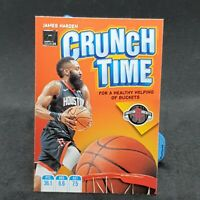 James Harden Donruss Crunch Time NBA Card 2019-20 Panini Houston Rockets
