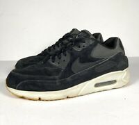 Nike Air Max 90 Ultra 2.0 Suede Leather Mens Black Trainers Sneakers Size UK 11