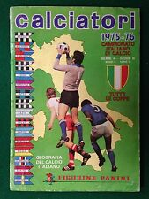 ALBUM Figurine Sticker CALCIATORI 1975-76 75-1976, Ed. Panini , Cpl -55