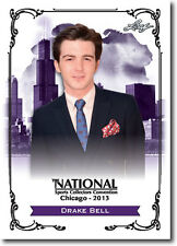 DRAKE BELL - TV Celebrity - Nickelodeon - 2013 Leaf PROMOTIONAL Card