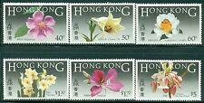 HONG KONG 451-56 SG497-502 MNH 1985 Indigenous Flowers set of 6 Cat$23