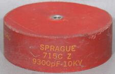 Sprague/Vishay 715C Z 9300pF 10kV Door Knob Capacitor 9300 pF 10 kV