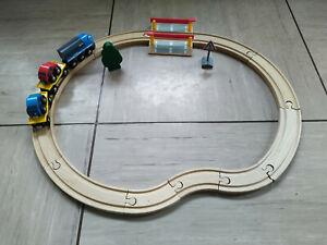 BRIO 33101 - Bahn Autotransporter Set, gebraucht
