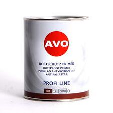 Rostgrund Grundierung mit intensivem Rostschutz grau 1Liter Primer AVO A020810