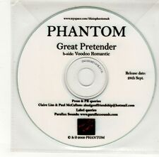 (GO281) Phantom, Great Pretender - 2009 DJ CD