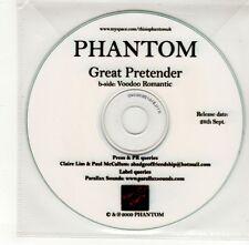 (GO281) Phantom, Great Pretender - 2009 DJ CD
