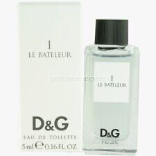 3X Le Bateleur 1 Dolce & Gabbana 0.16 oz/5ml Eau de Toilette Mini, Brand New