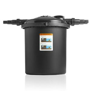 Swell UK Bio Pressure Filter 12000 Garden Koi Pond + Built in Cleaning System
