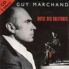 CD single Guy MARCHAND Hotel des solitudes 2 tracks card sleeve
