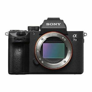 Sony Alpha A7 III Appareil Photo Hybride Numérique Neuf (Boîtier Uniquement)