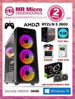 PC Gaming Ryzen 5 3600/ 16GB 3200Mhz/ SSD 240GB/ HDD 1TB/ MSI 1660 Gaming X 6GB