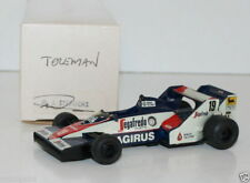 WESTERN MODELS SIGNED 1st VERSION - 1/43 SCALE - 1984 TOLEMAN TG183B SENNA #19