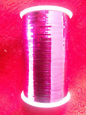 Lurex Embroidery Thread Metallic Choose Any Color 2500 Meters Buy 3 & Get 1 Hot Pink