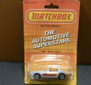 Vintage 1986 Matchbox Superfast Pontiac Trans-Am T-Roof
