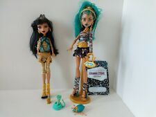 Monster High First Wave, Nefera And Cleo De Nile With Accessories, 1st Wave.