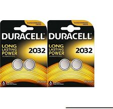4 x DURACELL DL/CR 2032 3V Lithium Coin Cell Battery Batteries EXPIRY 2026