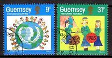 Guernsey - 1985 Youth year - Mi. 320-21 VFU
