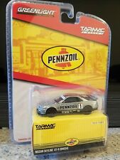 Ships from US 1/64 Nissan Skyline R34 Pennzoil Green Chase Tarmac Greenlight raw