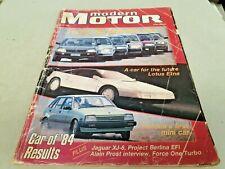 Mar 1985 MODERN MOTOR Mag Celica XF Fairmont Calais Volvo Skyline Cressida