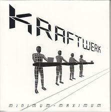KRAFTWERK Minimum-Maximum 2005 UK 22-track promo 2-CD slipcased card sleeve