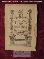 HARPER's August 1885 Ottawa English American Railroads WILLIAM WORDSWORTH +++