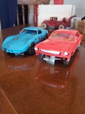 Pair of Vintage 1/24 Slot Cars