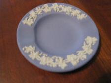 Vintage Wedgewood Jasperware Blue Ceramic Ashtray