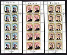 Gibraltar 405/7 gestempelt Kleinbogen Europa - Cept