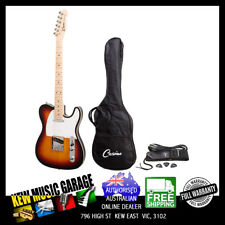CASINO TL-STYLE ELECTRIC GUITAR SET SUNBURST